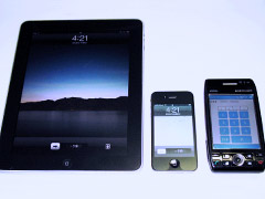 iPad & iPhone4 & W-ZERO3表-2010年6月